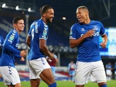 El Everton ganó 4-1 al West Ham. EFE/EPA