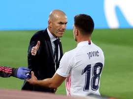 Zidane recovers Jovic and Odriozola. EFE