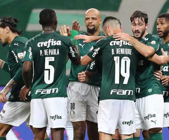 Palmeiras, a octavos. EFE