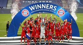 Así queda el Grupo A de la Champions 2020-21. EFE