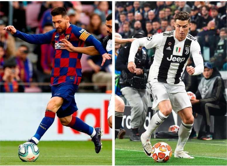 Saiba quem fez mais gols de pênalti entre Lionel Messi e Cristiano Ronaldo. EFE/Alberto Estévez y Al