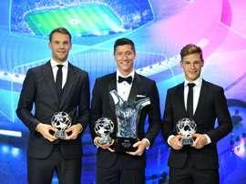 El rodillo del Bayern va más allá del césped. EFE