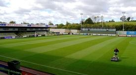 El Forest Green Rovers es un club edificado sobre verdes ideales. EFE
