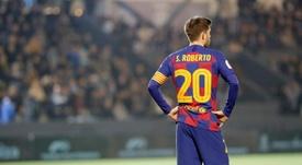 Sergi Roberto desfalcará o Barça por dois meses. EFE/ Sergio G. Cañizares