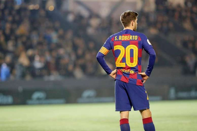 Sergi Roberto is also out injured. EFE