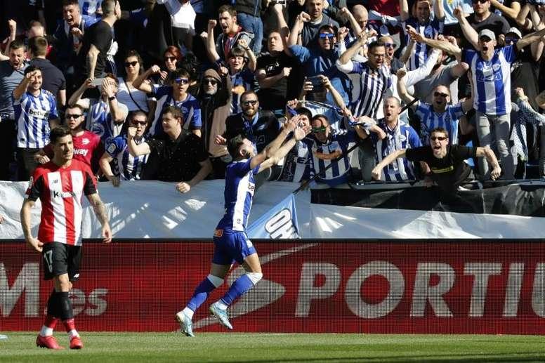 El día que Lucas Pérez pudo ser el '9' del Barça en la 'era Bartomeu'. EFE