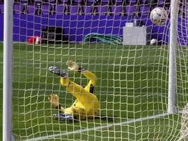 El Valladolid no pudo hacerle frente al Alavés en casa. EFE