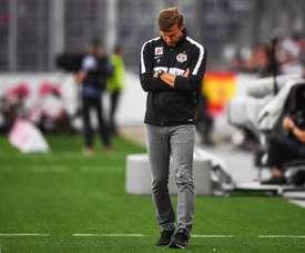 Salzburg coach Jesse Marsch. EFE