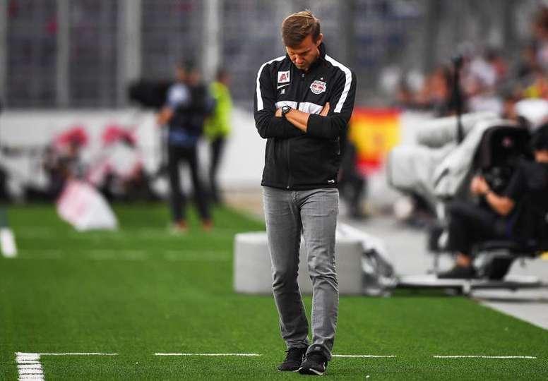 El Salzburgo informó de tres positivos en la plantilla. EFE