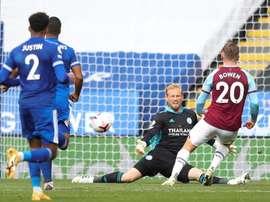 West Ham a battu Leicester. URL EFE
