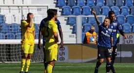 El Atalanta se llevó por delante al Cagliari. EFE