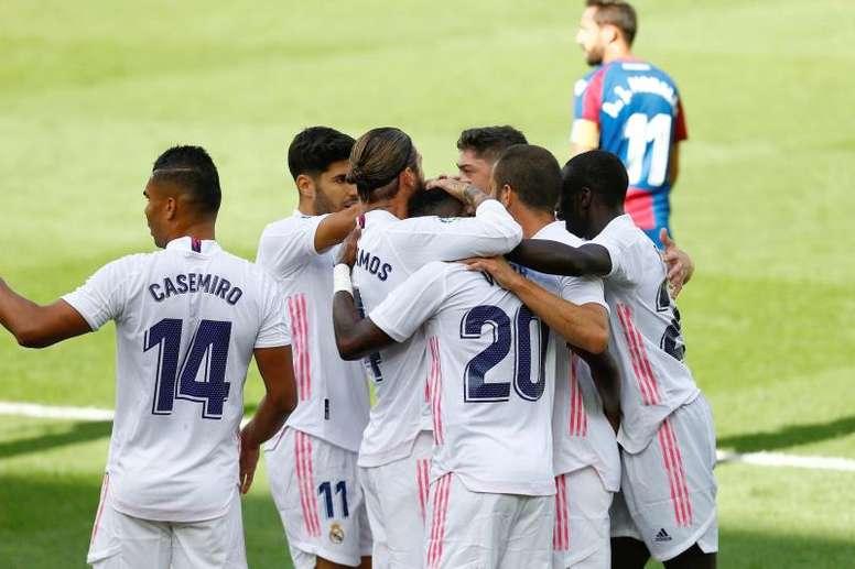 Les compos probables du match de Liga entre le Real Madrid et Cadix. EFE