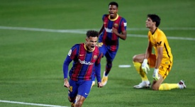 Coutinho has overcome an injury to his femoral biceps muscle. EFE