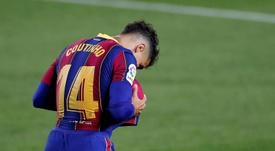 Coutinho will likely miss the Champions League clash with Juventus. EFE