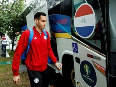 'Gatito' Fernández y Almirón, las dos grandes novedades en Paraguay. EFE