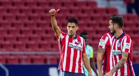 Luis Suárez va con todo: promedia un gol cada 76'. EFE/Rodrigo Jiménez/Archivo