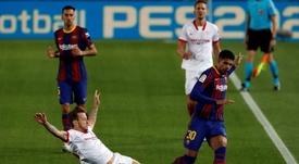 Rakitic cree que el Sevilla necesita más la victoria que el Madrid. EFE