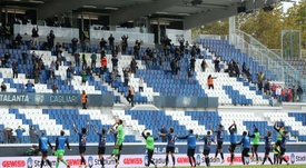 El Atalanta jugará la Champions en su nuevo estadio. EFE