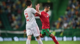 E deu empate no Duelo Ibérico entre Portugal e Espanha. EFE/EPA/MARIO CRUZ