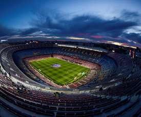 Le Camp Nou pourrait changer de nom. afp