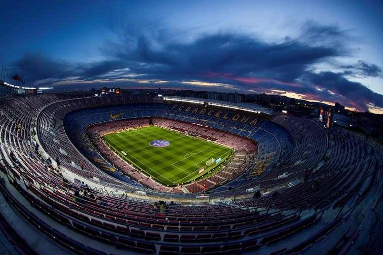 Barça estreará na Champions sem público. EFE/Alejandro Garcia