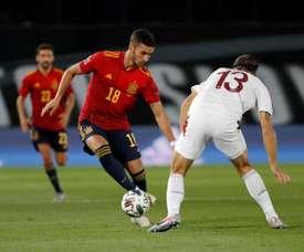 La Spagna batte la Svizzera. EFE