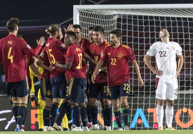 The Spain squad will be named on 6th November. EFE