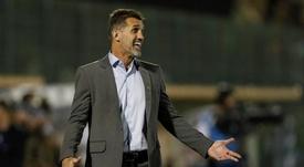 Bruno Méndez é aposta do Corinthians desde janeiro de 2019. EFE/Sebastião Moreira/Arquivo