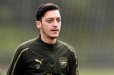Özil deluso dall'Arsenal. EFE