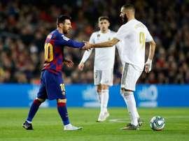 Le record que partage désormais Messi avec Benzema en LDC. EFE