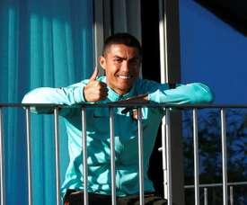 Ronaldo relaxing. EFE