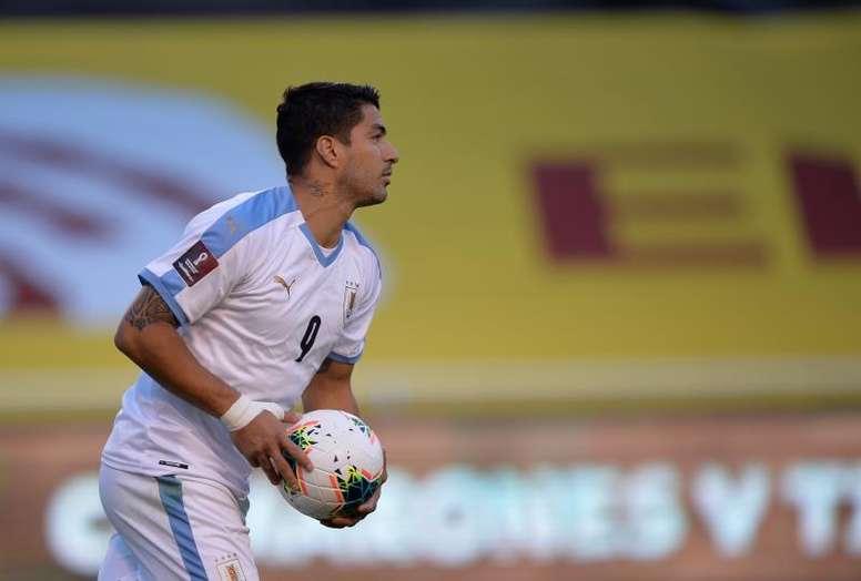 OFFICIEL : Luis Suarez testé positif à la COVID-19. afp