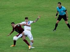 Primera victoria de Paraguay. EFE