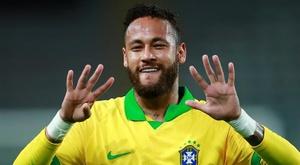 Mathieu critica Neymar. EFE/Daniel Apuy