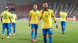 Ronaldo Nazário devolvió los piropos a Neymar. EFE/Paolo Aguilar