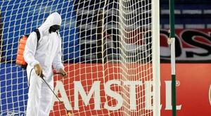 En Bélgica preocupan los contagios y se detuvo el fútbol no profesional. EFE