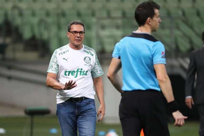 Quem será o novo treinador do Palmeiras. EFE/Sebastiao Moreira