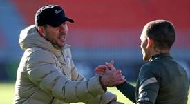 Simeone ha citado a Torreira para el duelo contra el Celta. EFE/Archivo