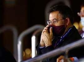 FC Barcelona's president, Josep Maria Bartomeu. EFE