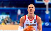 La jugadora de baloncesto Yelena Levchenko durante un partido disputado con la selección de Bielorrusia. Levchenko, nombrada mejor pívot en el Mundial 2010 y finalista de la WNBA ese mismo año, fue liberada este jueves. EFE/Federación Bielorrusa de Baloncesto