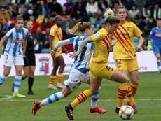 Bárbara Latorre se suma a la lista de España para el choque ante la República Checa. EFE