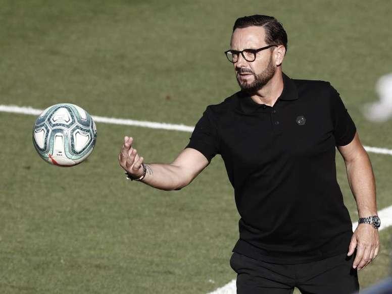 El Getafe se enfrenta al Barça en Liga. EFE