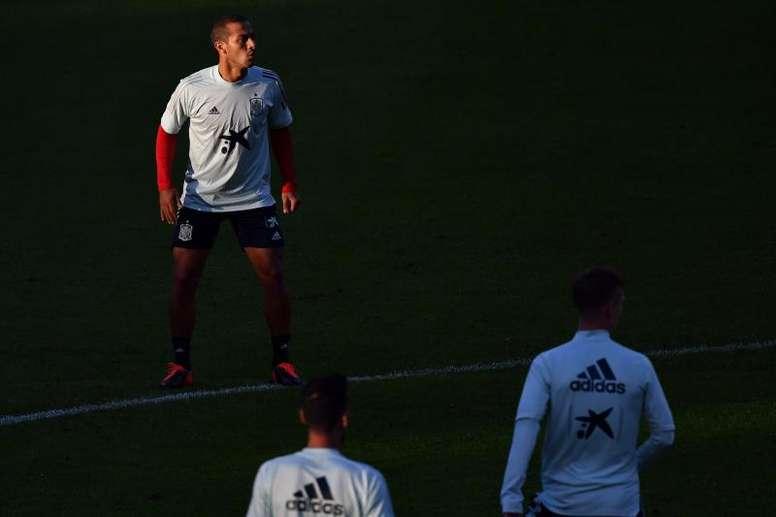 Thiago podría reaparecer este fin de semana tras dejar atrás el COVID-19. EFE/Archivo