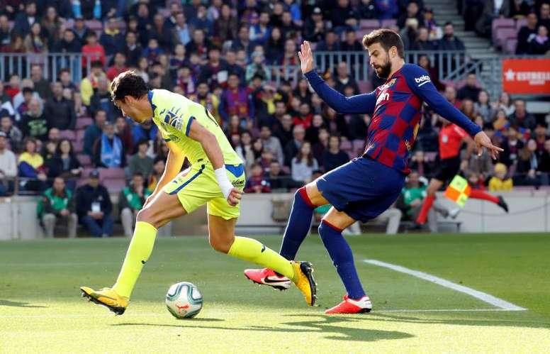 El Barça busca reponerse ante un Getafe que quiere romper el muro. EFE/Archivo