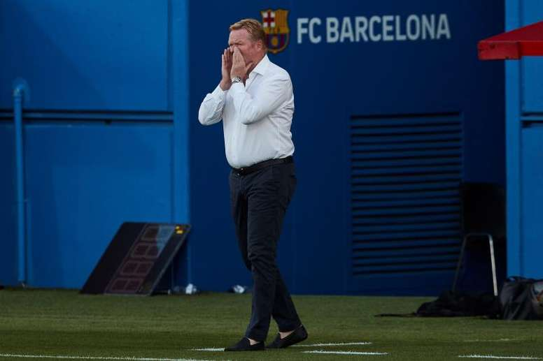 Koeman falou sobre a sua chegada ao Barcelona. EFE