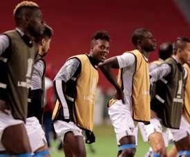 Independiente-Liga de Quito, el duelo estrella. EFE