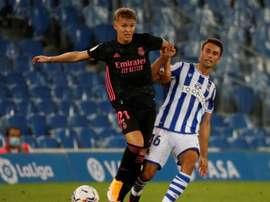 Odegaard demande à quitter le Real Madrid. AFP