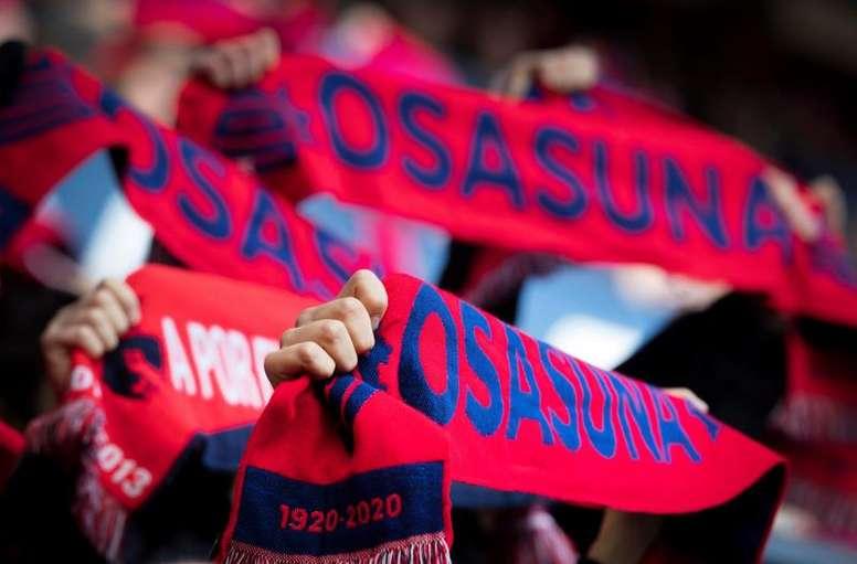 Zubiri pondrá voz al himno del centenario de Osasuna. EFE/Archivo