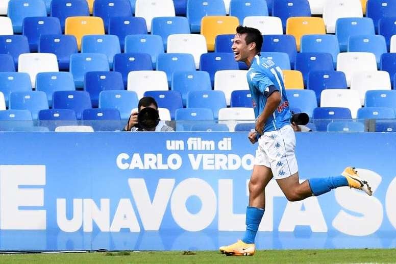 El Nápoles engulle al Atalanta. EFE/Ciro Fusco