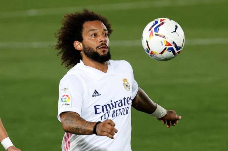 Marcelo has played every time Real Madrid have lost. EFE